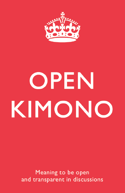 buzzword#1 - Open kimono