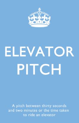 buzzword#6 - Elevator pitch
