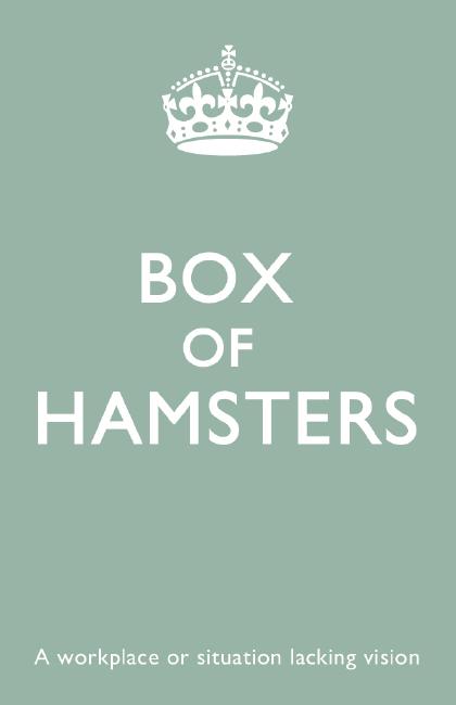 buzzword#8 - Box of hamsters